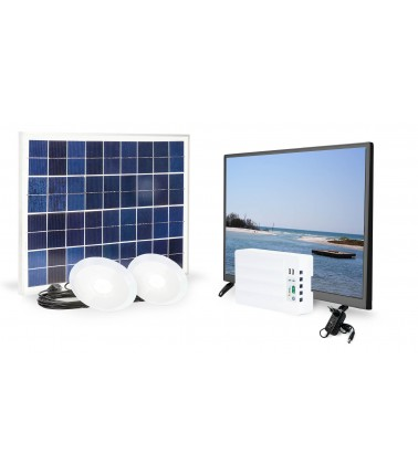 fosera. LSHS - Solar TV Set